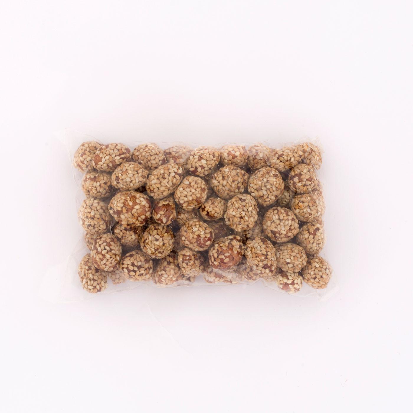 """Καραμελωμένο Φυστίκι με σουσάμι """"Σερεάλια"""" 250 γρ."""