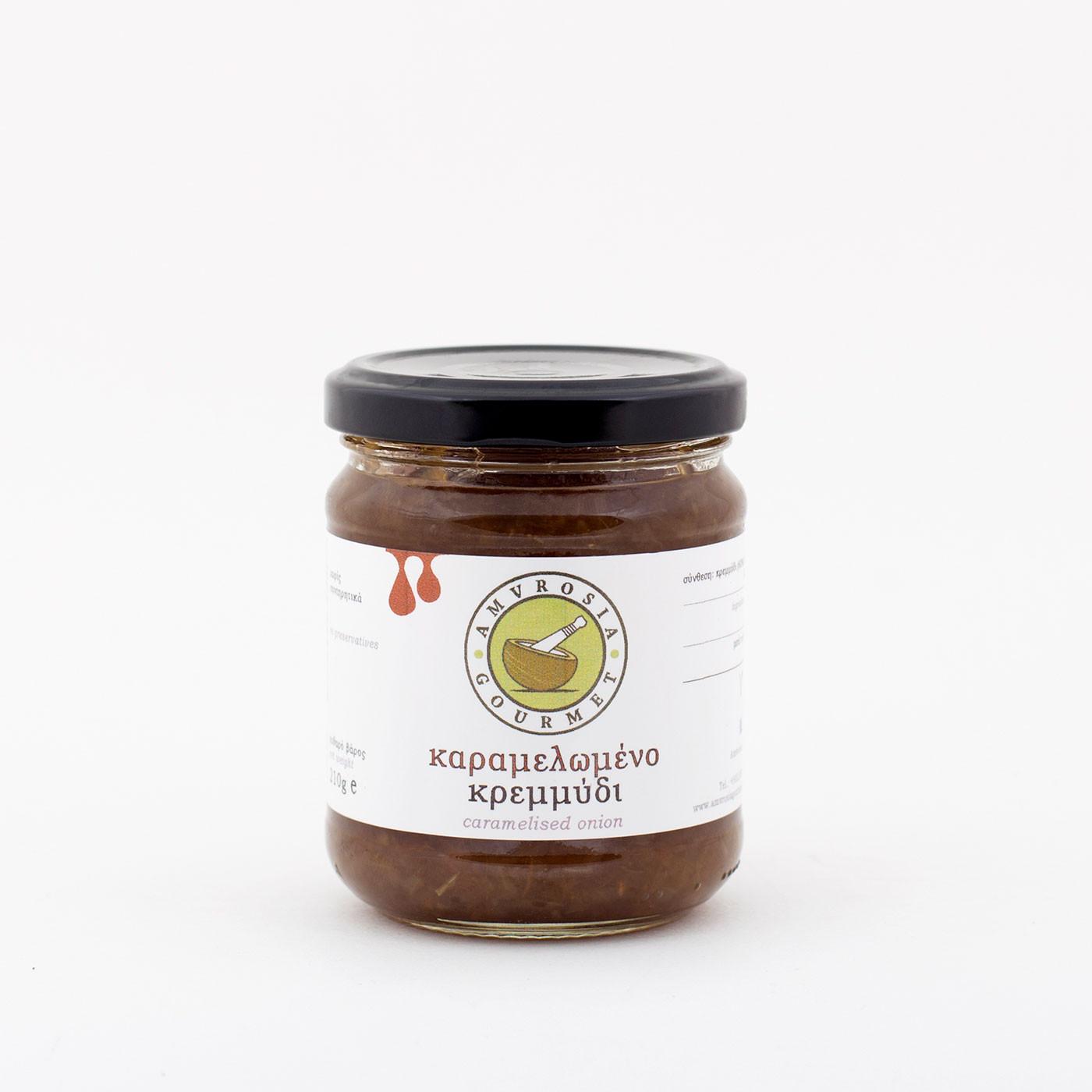 """Καραμελωμένο κρεμμύδι """"Amvrosia Gourmet"""" 210 g"""