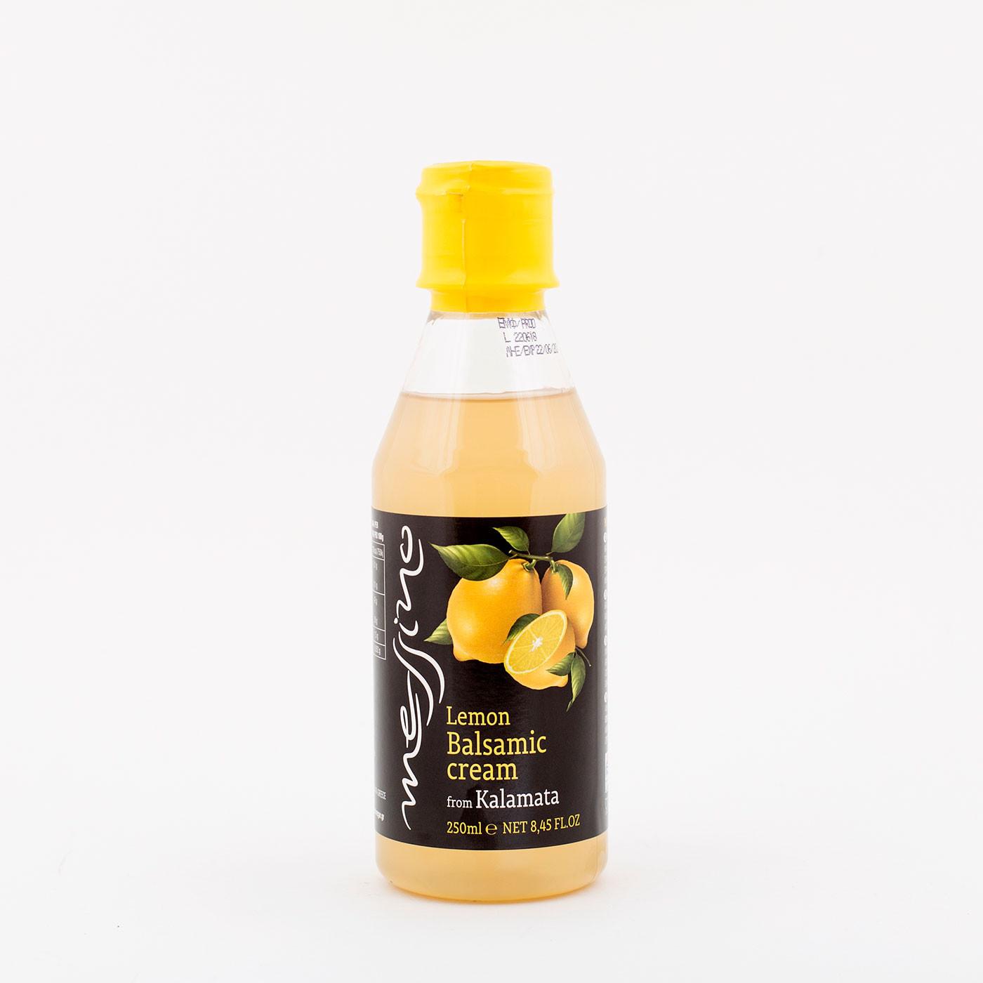 """""""messino"""" Lemon Balsamic cream from Kalamata 250 ml"""