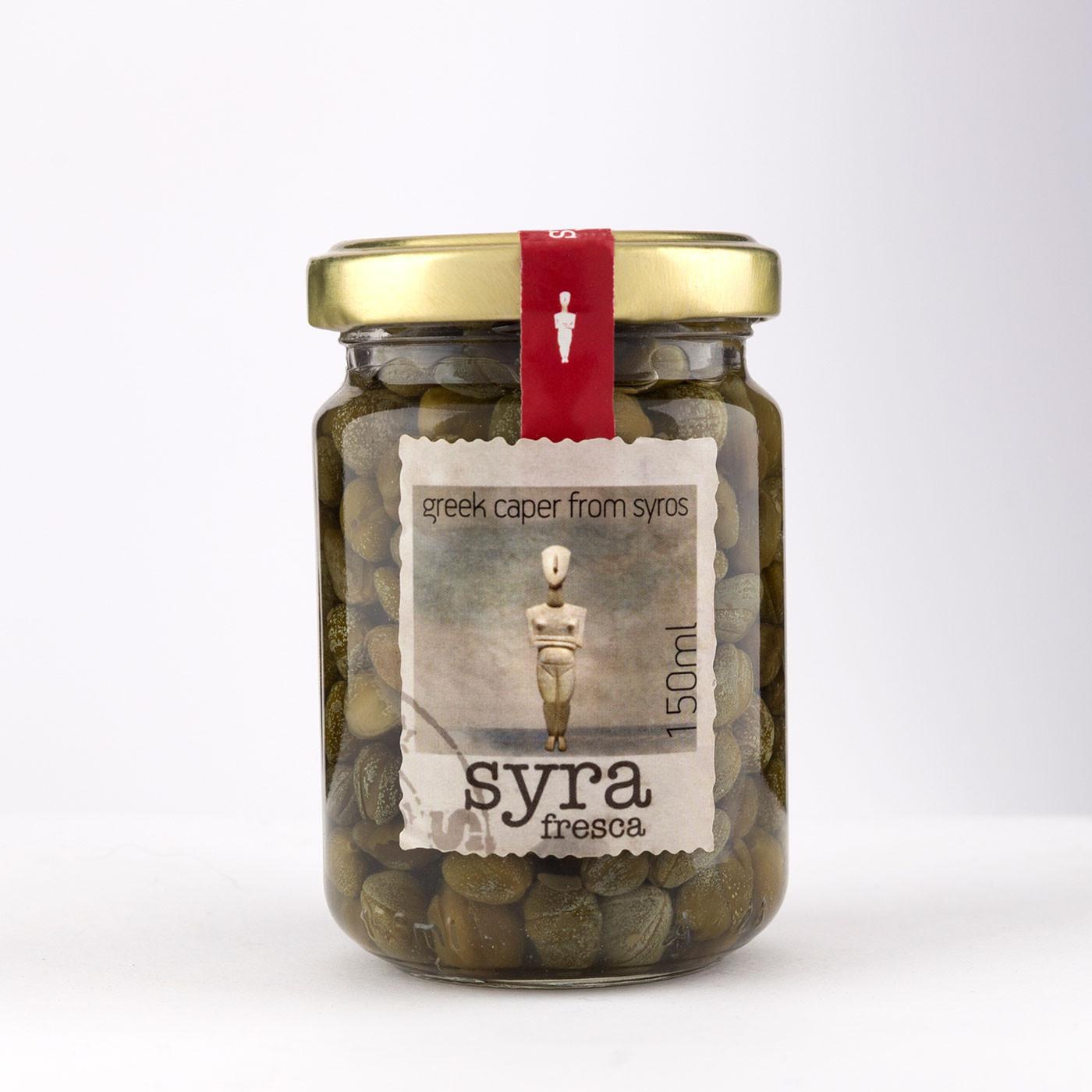 """Κάππαρη Σύρου """"Syra fresca"""" 125 g"""